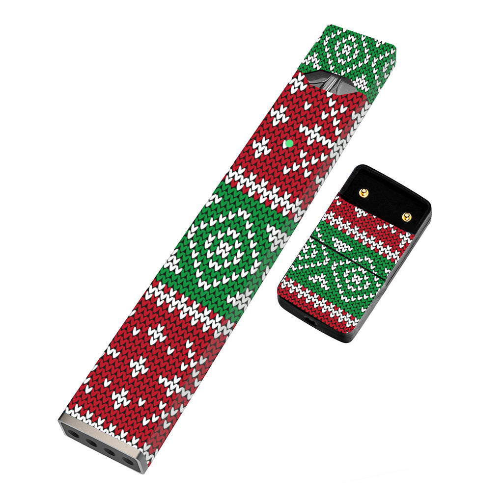 Pack of 2 Full Skin For JUUL - Ugly Sweater - VaperSkins