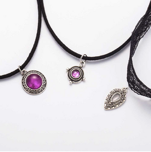 3 piece pendant chokers