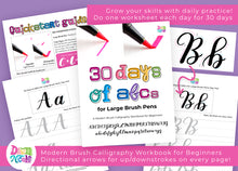 30 Days of ABCs for Large Brush Pens