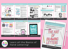 NEW! Hand Lettering for Beginners Workbook