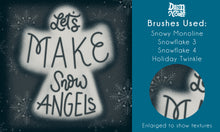 Enchanted Winter Procreate Lettering Kit