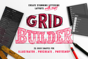 The Letter + Grid Builder Bundle