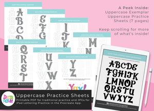 NEW! Quinn Lettering Style Workbook