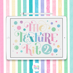 NEW! The Texture Kit 2 for Procreate