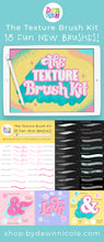 The Texture Brush Kit for Procreate