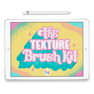 NEW! The Texture Brush Kit for Procreate