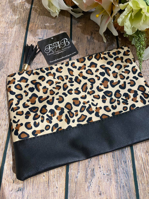 Leopard Accessory Bag