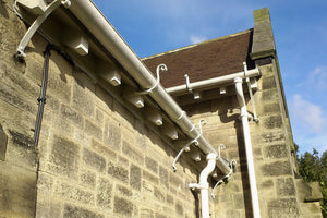 metal gutter brackets for cast iron gutter