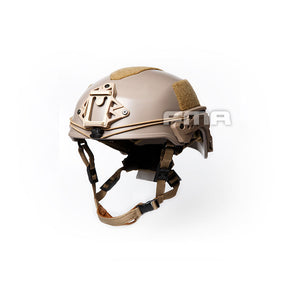 FMA EX Tan Ballistic Helmet For Airsoft Paintball (L/XL (57-61cm))