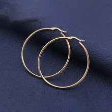 Fabolouz Large ear ring 316L stainless steel 25MM - 100MM