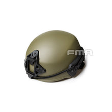 FMA EX RG Green Ballistic Helmet For Airsoft Paintball (L/XL (57-61cm))