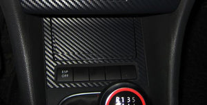 Matted Carbon Fiber Pattern Panel Sticker For VW Golf MK6 GTI R20 (Only fit for left hand drive)