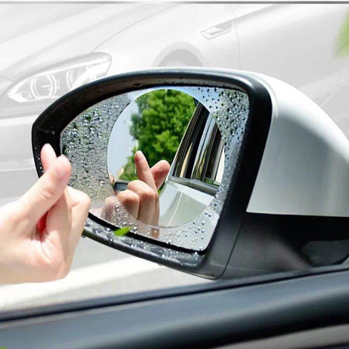 (Set of 2) Anti-fogging Car Side Mirror Rainproof Coating Water Reversing Sticker