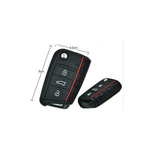 Silicone Made Key Cover Case Skin Key Fob for Volkswagen VW Golf 7 MK7 (NOT for GTI / R version)