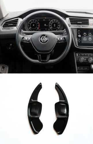 DSG Paddle Shifter Extension for VW Tiguan L Teramont PHIDEON C-TREK (Ver.2) (Black)