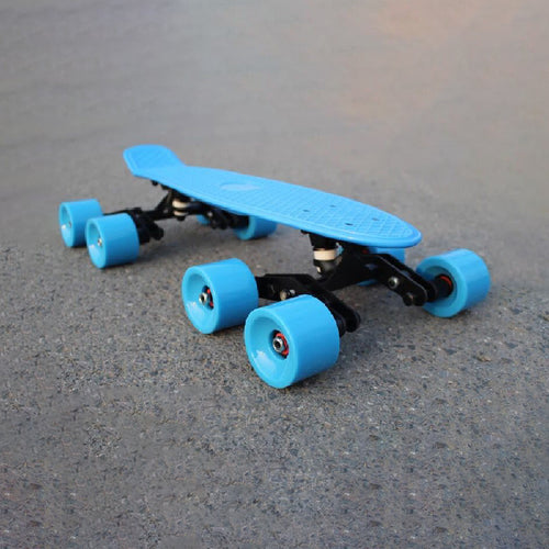 Double Wheeled Kit for Skateboarding Downhill Longboarding (Version 2)