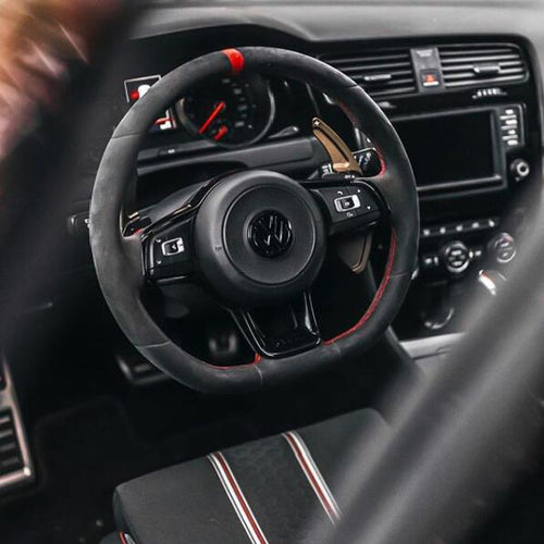 Aluminum Made DSG Paddle Shift Extensions for Automatic VW Golf MK7 Scirocco GTI (4-Color)