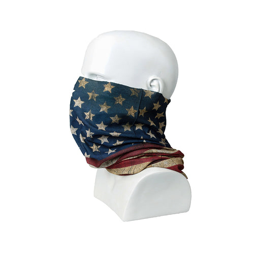 TMC Balaclava with USA Flag Face Scarf (US Flag)