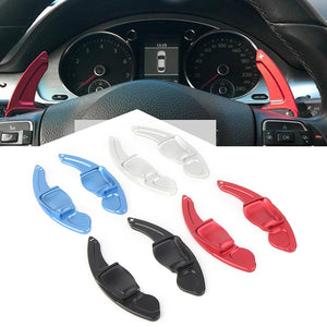 Aluminum Made DSG Paddle Shift Extensions for Automatic VW Golf MK5 6 SEAT (4-Color)