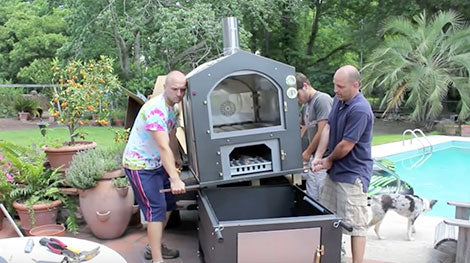 How to Set Up Your New Fontana Wood-Fired Oven
