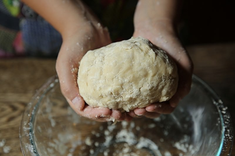 You are now ready to allow the dough to rest before rolling it out