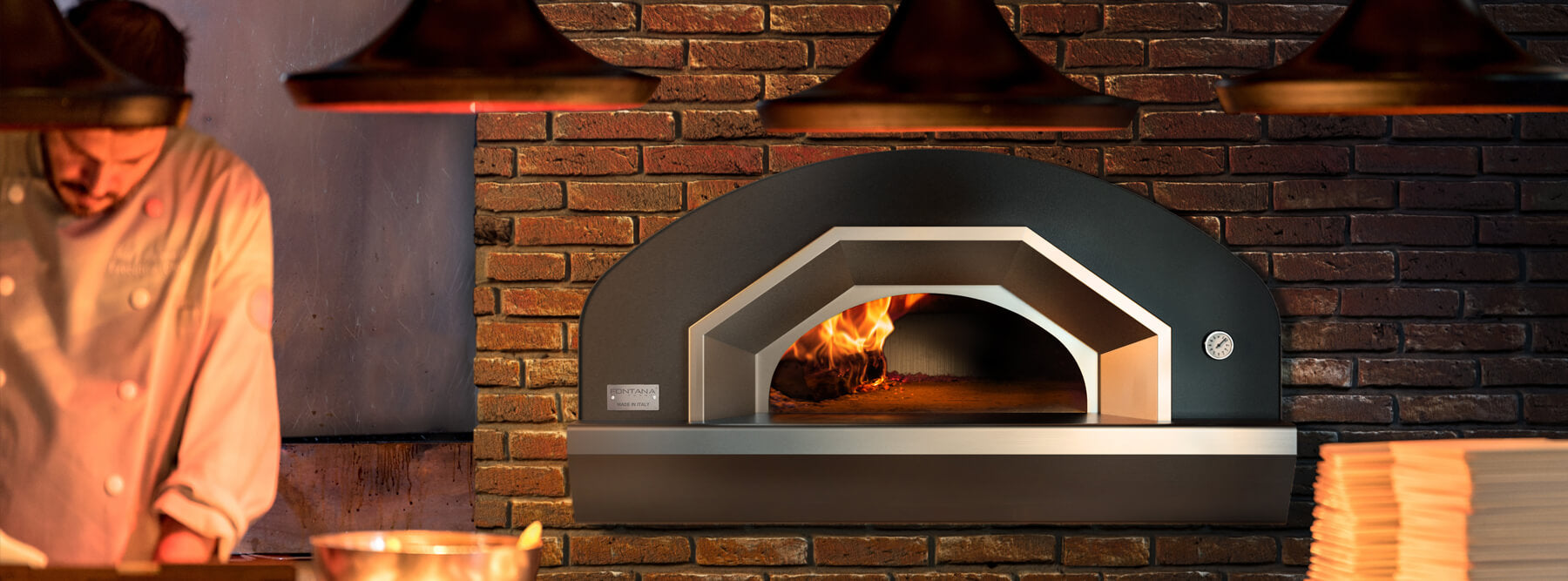 Commercial Pizza Ovens by Fontana Forni |  100% Made in Italy since 1978