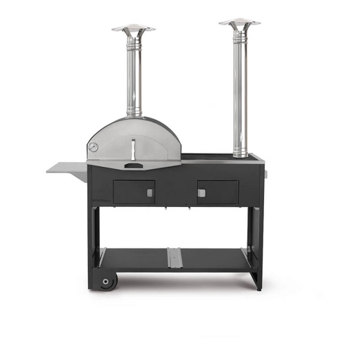 Dual Chamber Pizza Oven