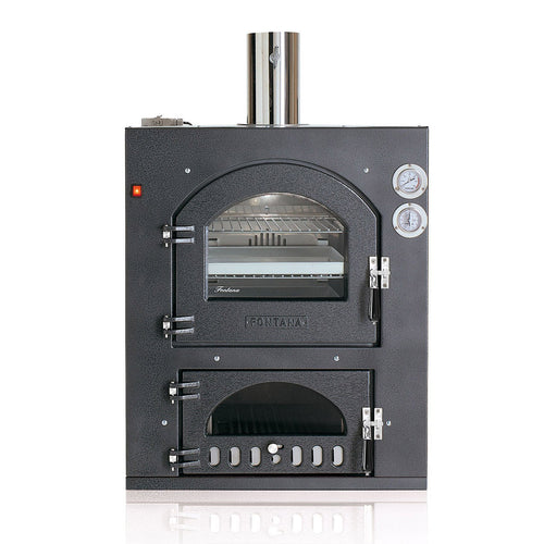 Fontana Inc Q Built In Wood Burning Oven