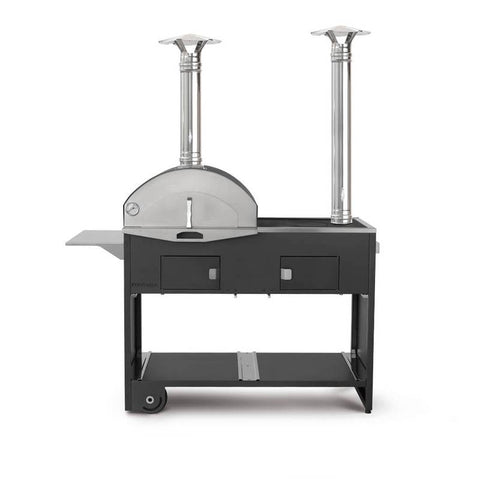 Pizza e Cucina Double Pizza Oven & BBQ Grill