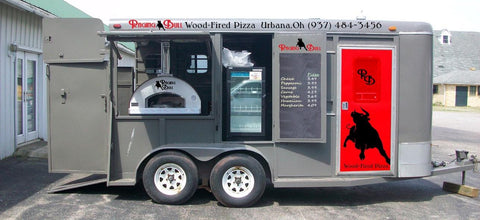 wood fired pizza truck