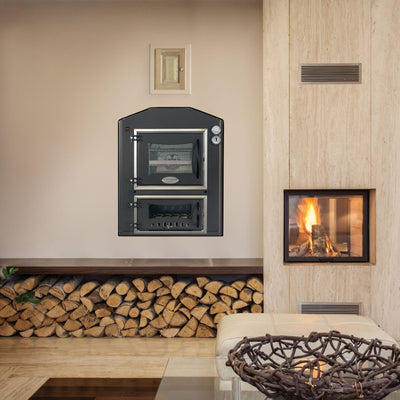 The Inc Built-in Wood-burning Oven by Fontana Forni in Ovens & Grills
