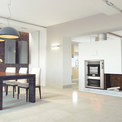 The Inc Q Built-in Residential Kitchen Wood-Burning Oven by Fontana Forni in Ovens & Grills