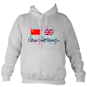 China Craft Direct large logo unisex hoodie