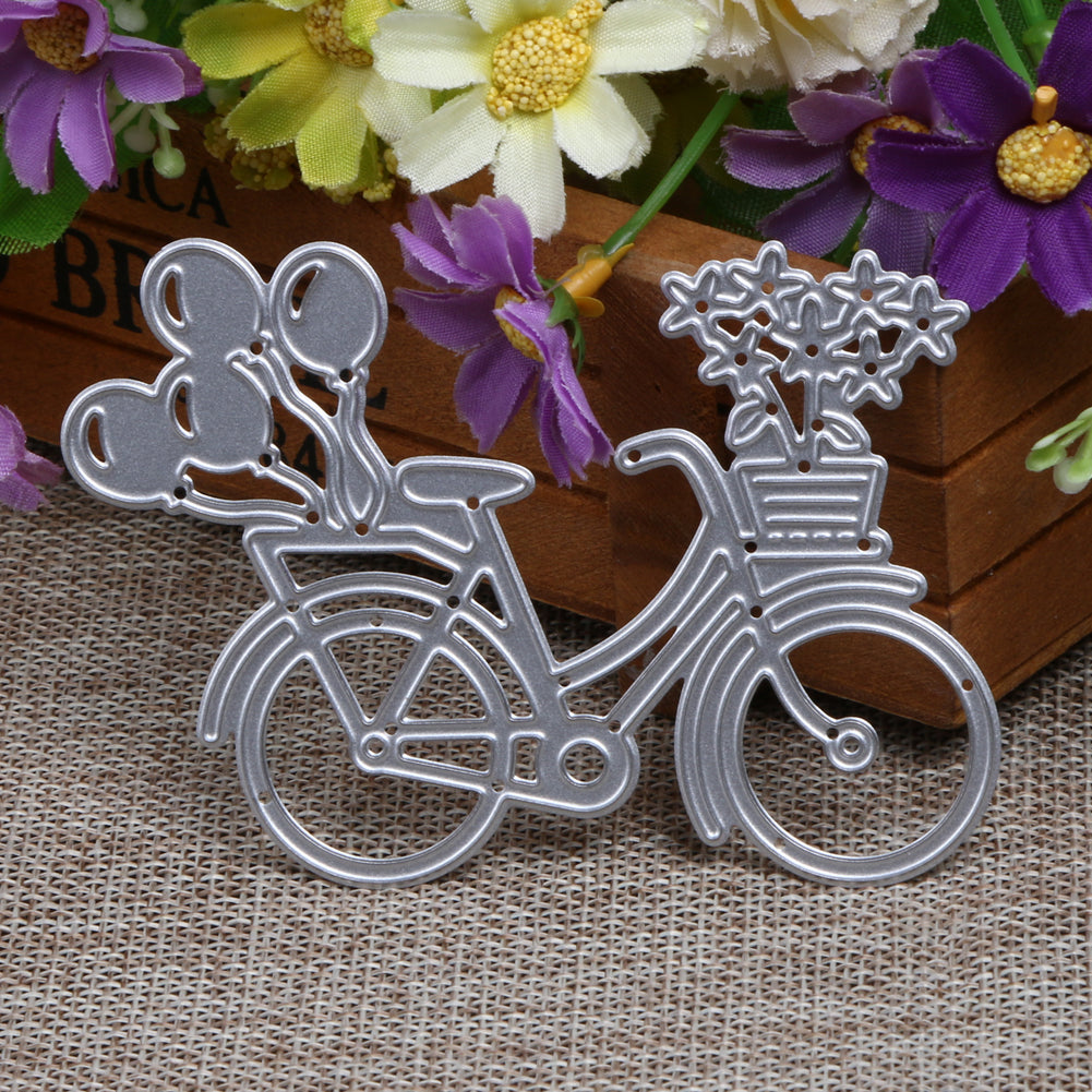 Balloons Bicycle Metal Cutting Die