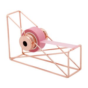 Geometric Rose Gold Colour Washi Tape Dispenser
