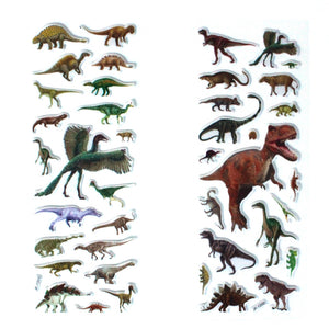 Dinosaur Bubble stickers twin pack