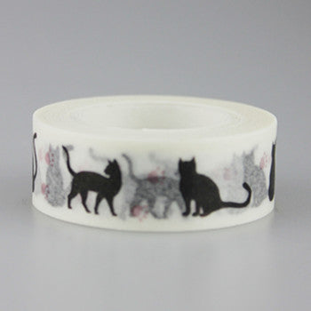 Cat Pattern Washi Tape