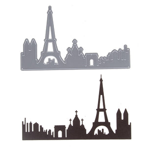 Paris City Skyline Die