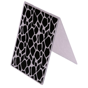 Giraffe Print Embossing Folder