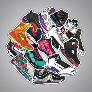 100pcs Trainer themed stickers