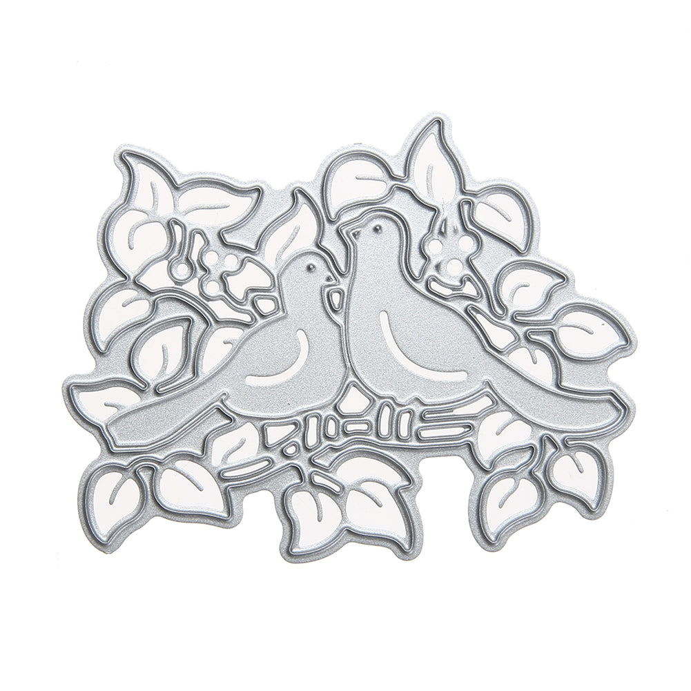 Birds pair metal cutting die