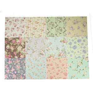 24 Sheets Beautiful Floral paper