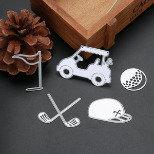 5 pcs Golf Cutting Dies set