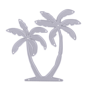 Coconut Palm Tree Metal Cutting Die