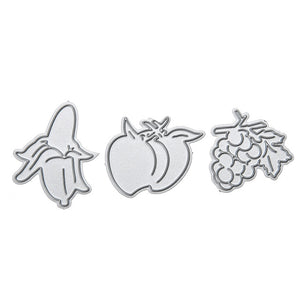 3Pcs Fruit Cutting Die set