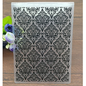 Damask pattern Embossing Folder