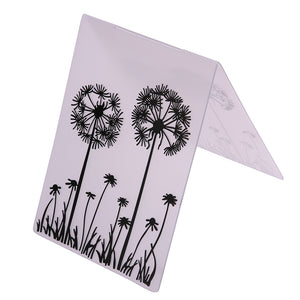 Dandelion Embossing Folder