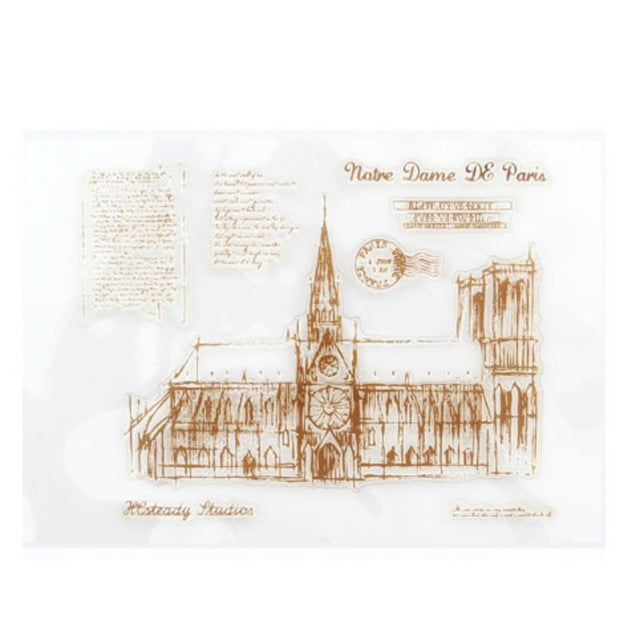 Notre Dame Clear Stamps