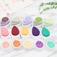 Raindrop shaped craft ink pad