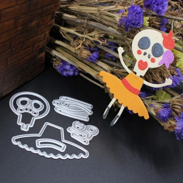 Skeleton Dancer Die